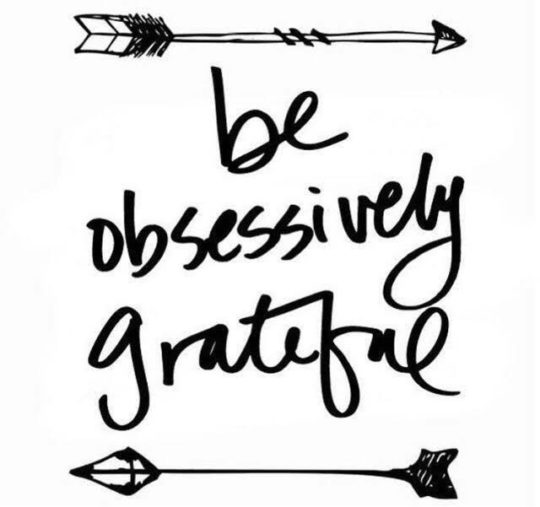 10 Ways Being Obsessively Grateful Can Rock Your World